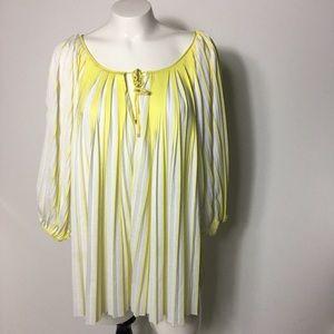 DVF DIANE VON FURSTENBERG 'Keoni' plisse blouse 8
